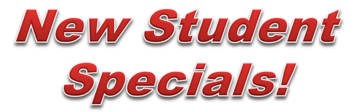 New Student Specials! Call now to find out more information on karate lessons and class times for kids, teens and adults!
