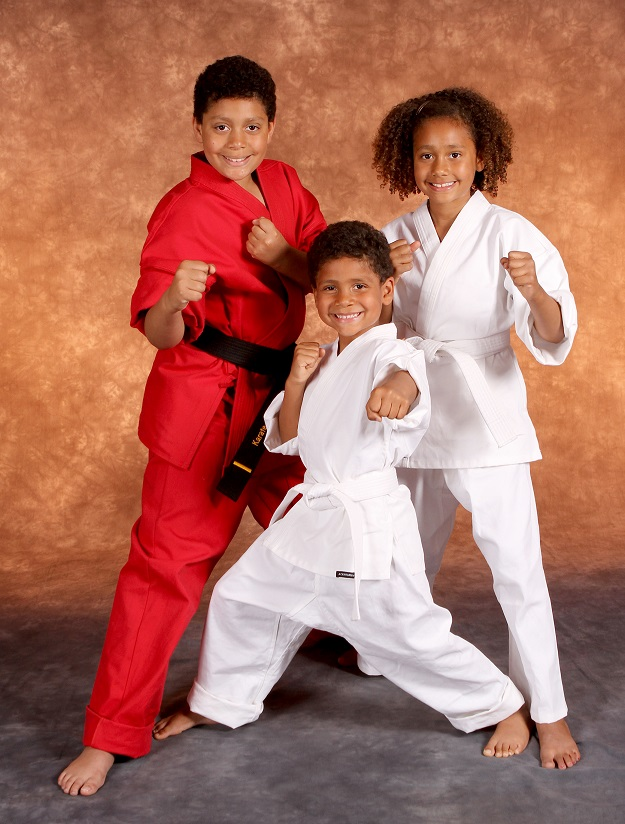 Family of Karate Students