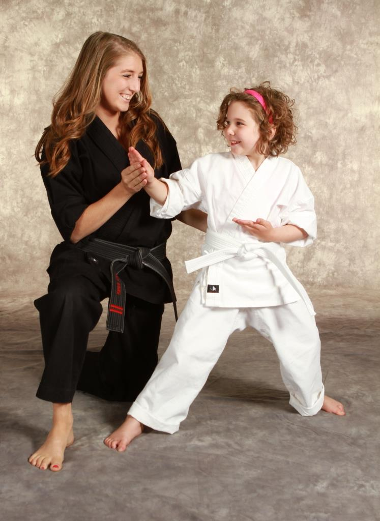 Karate is a Great Sport for Girls