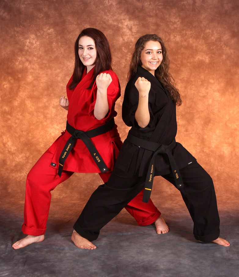 Karate is a great sport for girls, karate family