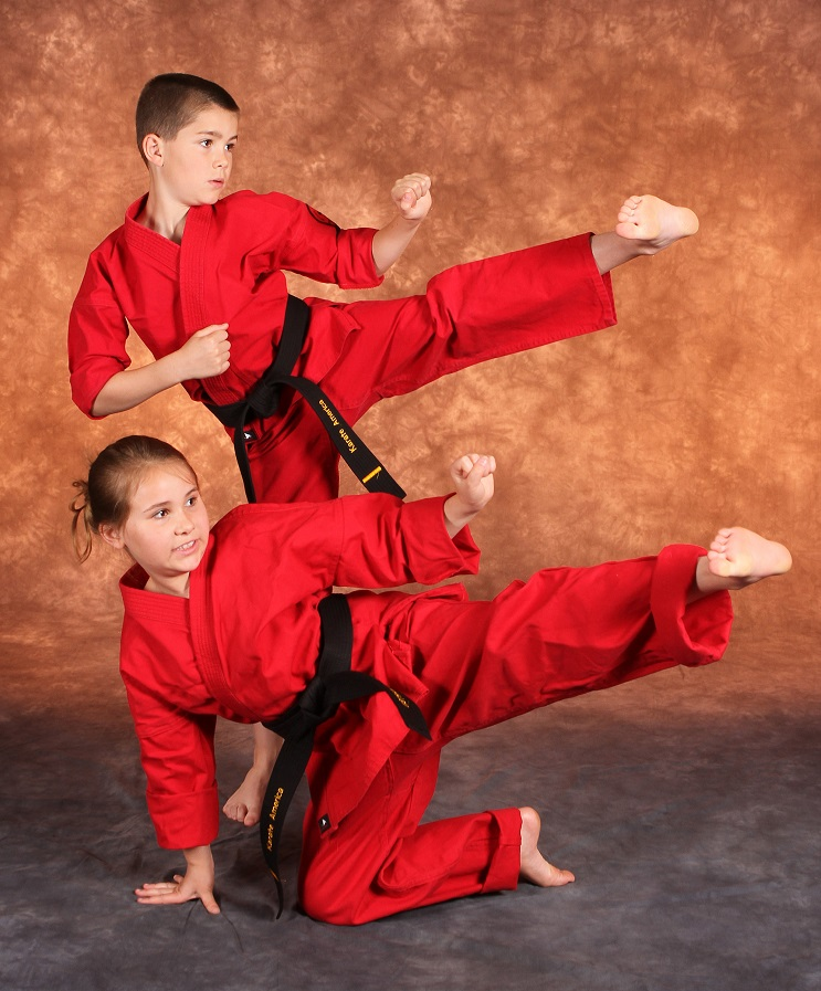Karate is a great sport for families of all ages!